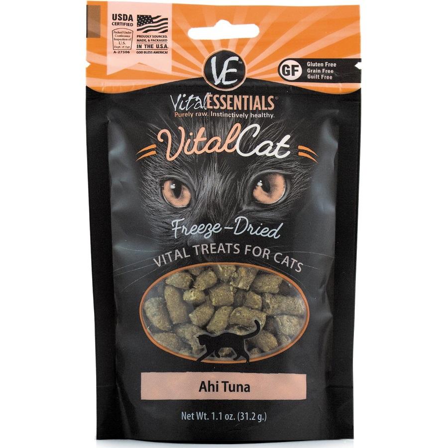 Vital Essentials FREEZE DRIED RAW Vital Cat Ahi Tuna Cat Treats 1.1oz