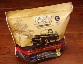 Tucker's Raw Frozen Grain-Free Pork, Beef & Pumpkin Formula Raw Frozen Dog Food 6lbs