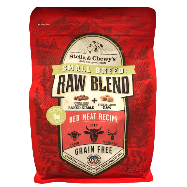 S&C RAW BLEND RED MEAT 10#